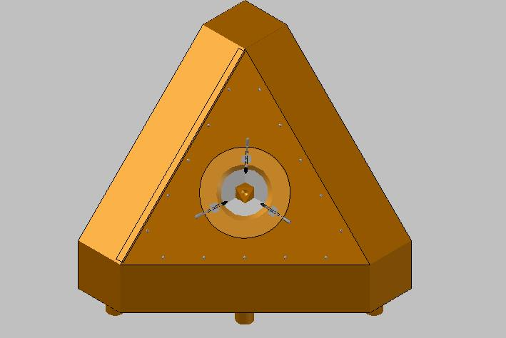 Tetrahedral Main Assembly